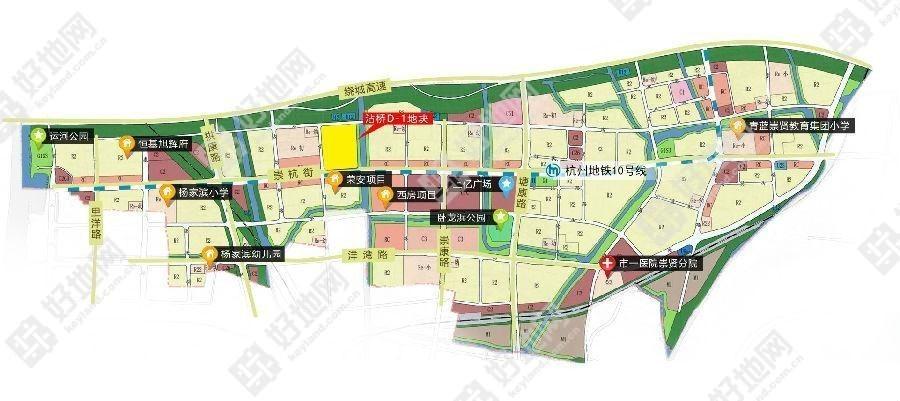 2020年崇贤新城规划图