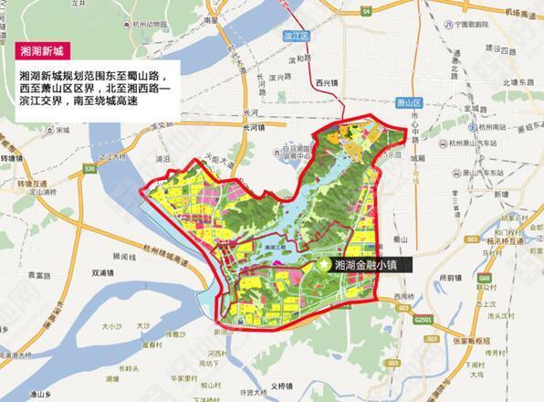 湘湖新城将以湘湖旅游度假区为基础,打造江湖一体的自然山水环境