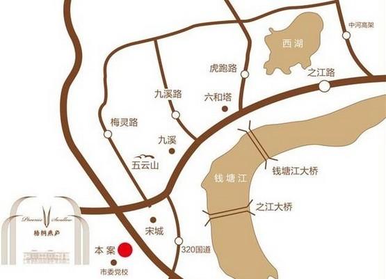 钱塘梧桐燕庐位于杭州西湖区之江旅游度假区内,由一向以筑造排屋