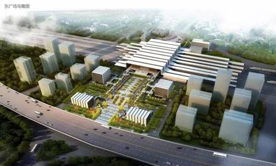 火车南站规划图-新兴的南站板块会是下一个城东新城