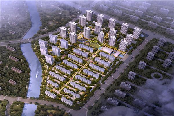 项目由招商蛇口,阳光城,中粮,万科四家联合开发,规划22幢27层高层,16